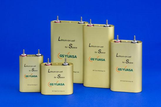 GS Yuasa Lithium-Ionen-Raumfahrtzellen für Satelliten