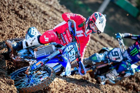 Steil im Hang Yuasa Motocross GP in Italien