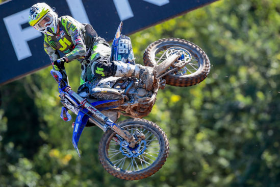 Action pur vom Team SM Action Yamaha beim MXGP von Italien 2020