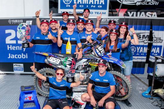 Yuasa gratuliert dem gesamten Team SM Action Yamaha zum Sieg des MXGP von Italien 2020