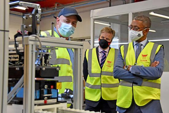 GS Yuasa schafft mehr als 100 neue Arbeitsplätze in der Fabrik in Ebbw Vale