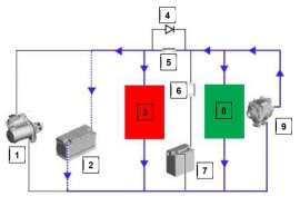 IC Dual Battery System Components