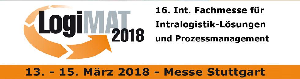 LogiMAT 2018 – Messe Stuttgart