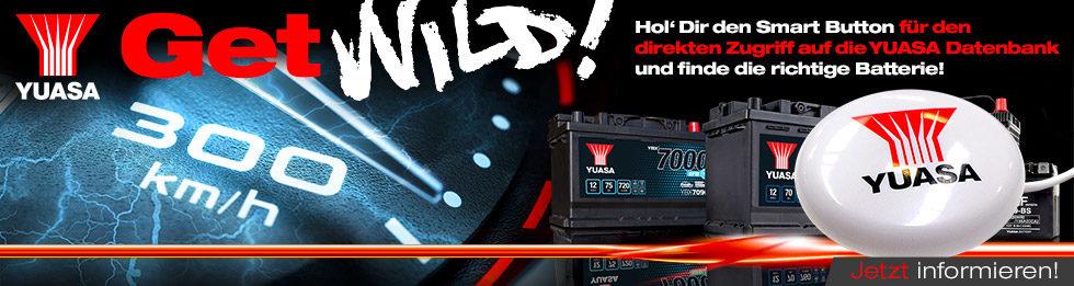 Yuasa Get Wild! Tacho – Smart Button