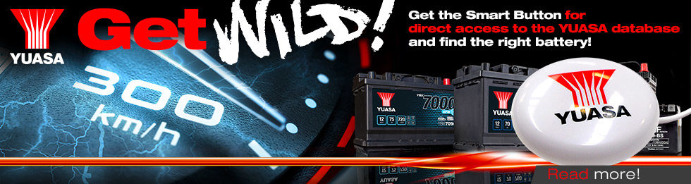 Yuasa Get Wild! Speedometer – Smart Button