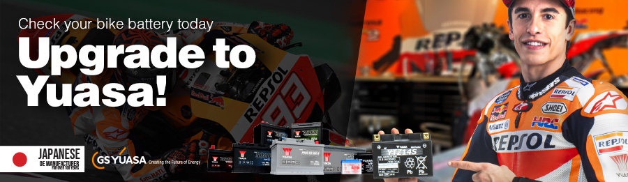 Marc Marquez – battery check