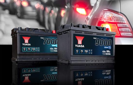 Zuverlässige Batterien von GS YUASA für Start-Stopp- und Micro-Hybrid-Fahrzeuge