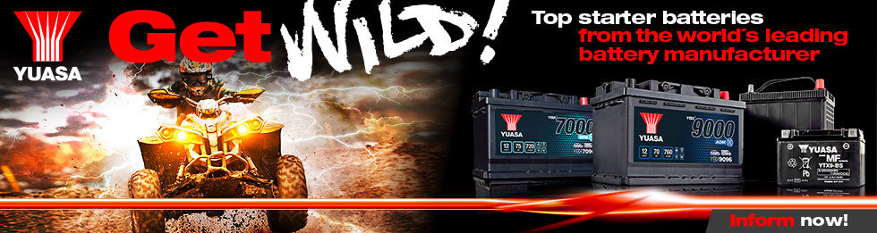Get Wild! Quad – Starter batteries