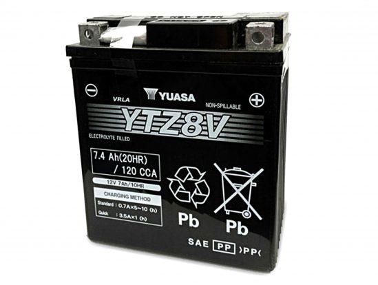 YUASA stellt neue Austauschbatterie für Yamaha und Honda vor