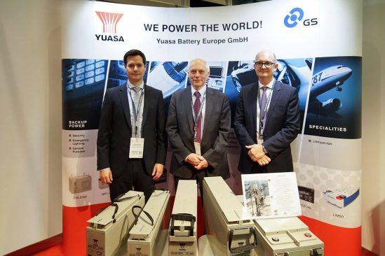 Die geballte Kompetenz der Yuasa Battery GmbH überzeugt auf der Data Centre World 2016