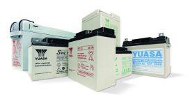 Bleibatterien-Sortiment von YUASA