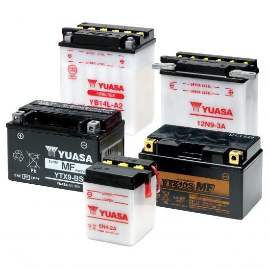 Dreifache Power, langes Leben – GS YUASA Batterien für Motorräder und Motorsport