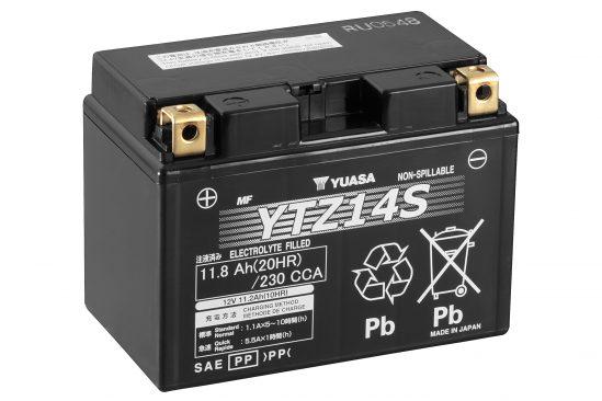 Hochleistungsfähige YTZ-Batterien von GS YUASA – Platzsparend, wartungsfrei und auslaufsicher