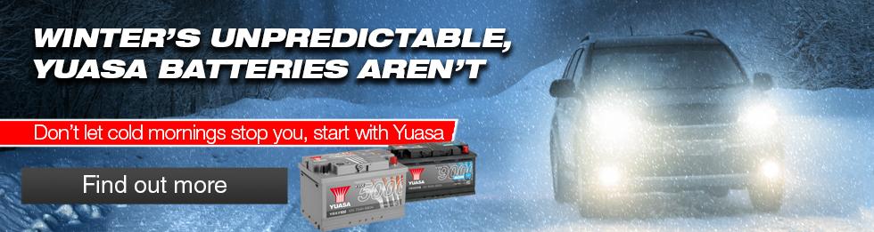 Yuasa Winter Banner 2