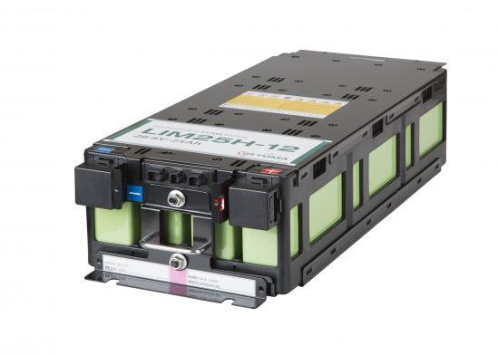 Lithium-Ionen-Batteriemodul LIM25H-12 von GS YUASA für den industriellen Einsatz.