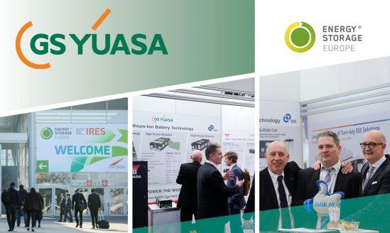 GS Yuasa auf der Energy Storage 2018 in Düsseldorf