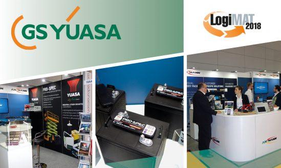 GS Yuasa bei der LogiMAT 2018 in Stuttgart