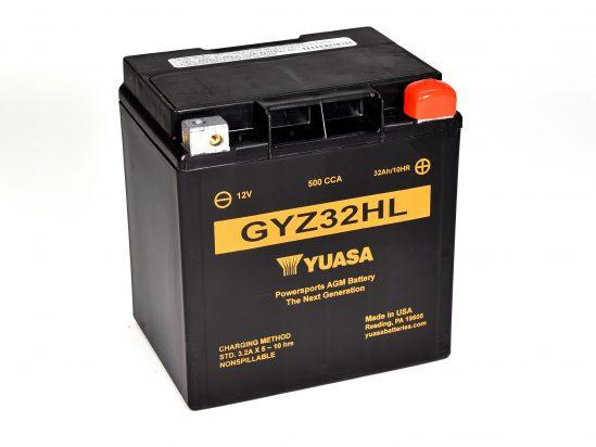 Die Stärksten: GYZ-Motorradbatterien von GS YUASA