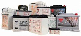 Verschlossene Blei-Säure-Batterien (VRLA) wie z.B. das Modell SLR1000 von YUASA