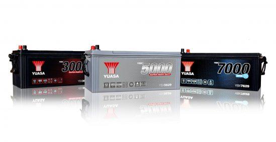 Ab sofort erhältlich: Neue YBX Super-Heavy-Duty-Batterieserien für Nutzfahrzeuge von GS YUASA
