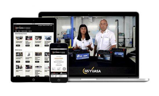 GS YUASA Academy – Batteriekenntnisse per Online-Lernplattform vertiefen