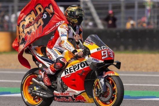 Triumph für Marc Marquez